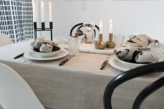 Vitra / Eames Dsr / Ton / Thonet / Artek / Kubus / By Lassen / Marble / Iittala / Hobstar / Balmuir / Linen / Table setting / Scandinavian home By Lassen, Scandinavian Home, Eames, Table Settings, Table Decorations, Marble, Furniture, Home Decor, Decoration Home