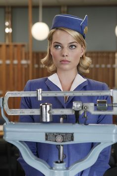 Margot Robbie from Pan Am