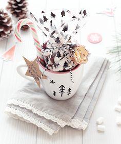 Last-Minute-Geschenkidee: Zimt-Schokolade im Becher