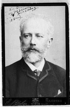 Portrait of Pyotr Ilyich Tchaikovsky, 1888