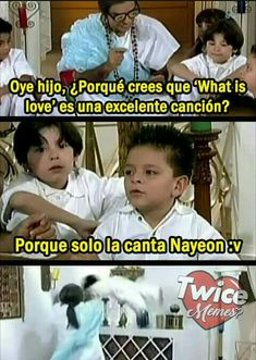 Segundo libro de memes de twice ❤ :3 Mayor logro: #31 en humor … #detodo # De Todo # amreading # books # wattpad Nayeon, Nct, Signal Twice, Kpop Groups, Bts Memes, Random, Dramas, Wattpad, Album