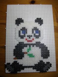 Panda hama perler beads by mes-petites-creations-13