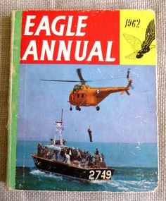 Excited to share the latest addition to my shop: Vintage Eagle Annual Vintage Comics, Vintage Books, St Clare's, Enid Blyton, Ladybird Books, Life Is An Adventure, Night Skies, Comic Strips, Childrens Books