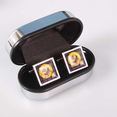 Carnegie Clan Crest Cufflinks. Free worldwide shipping available.