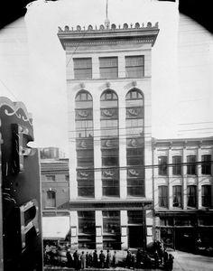Citizen Building Sparks Street Ottawa Ont Apr., 1907 Photo Archive, Ottawa, Citizen, Ontario, Vintage Photos, Buildings, Canada, Urban, History