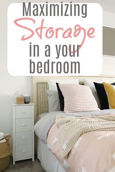 Maximise Storage in Your Bedroom with these brilliant interior and decor hacks Built In Storage, Bed Storage, Storage Ideas, Storage Spaces, Beautiful Space, Beautiful Homes, Bed Centre, Buy Bed, Stylish Bedroom
