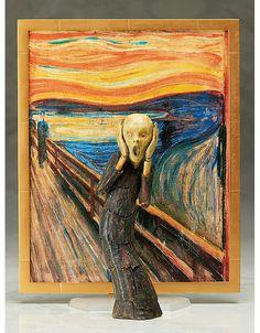 O Grito de Edvard Munch – Action Figure
