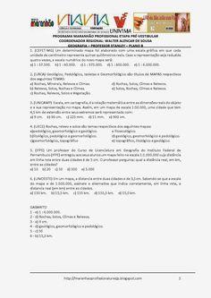 Programa Maranhão Profissional 2014: ETAPA PRÉ-VESTIBULAR - PLANO B - GEOGRAFIA