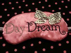 9ee96c4c0b65e Items similar to Day Dream Beauty Sleep eye Mask Stocking stuffer on Etsy
