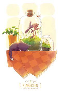 PINKERTON: beautiful story of a Little cat going on a Big Adventure — Kuvva Blog