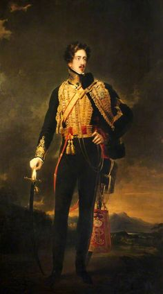 """George Hamilton (1797–1883), 3rd Marquess of Donegall  --- this one's not so tan as the """"other"""" GH - lol  ;)"""