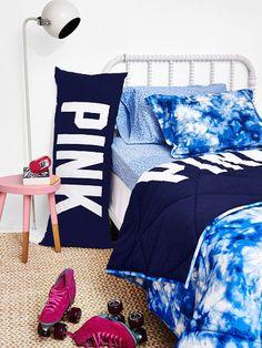 Reversible Quilted Comforter - PINK - Victoria's Secret