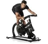 Real Ryder bike gives the best workout in the winter when you can't get outside!