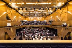 Image 33 of 40 from gallery of Estudio Barozzi Veiga's Philharmonic Hall Szczecin Photographed by Laurian Ghinitoiu. Photograph by Laurian Ghinitoiu Contexto Social, Identity, Web Design, Branding, Auditorium, Concert Hall, Architecture, Opera House, Gallery