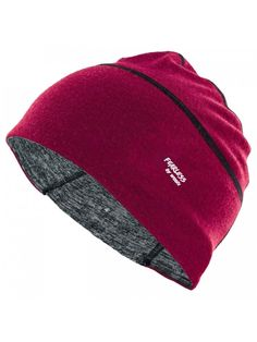 Lexie - Merino Wool Skull Cap-Helmet Liner-Running Beanie-Moisture Wicking    Stylish - Sangria Mélange - CJ12NUHC9OZ 0ad7893e34