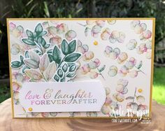 Forever Fern with the Baby Wipe Technique – Kate Morgan, Independent Stampin Up!® Demonstrator Rowville, Victoria, Australia