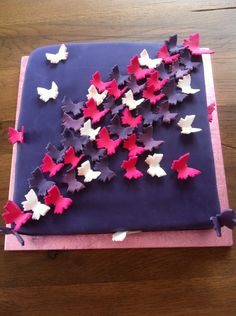 Butterfly theme wedding cake / Schmetterlings-Hochzeitstorte