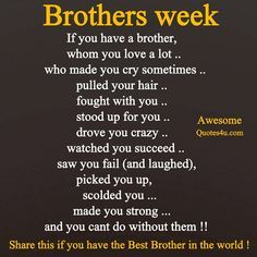 Brother Love Quotes Family Wall Art  A Brother Is A Person  Brother Quote Inspiration
