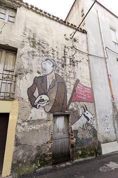 Murales, Orgosolo, Sardinia, Italy.