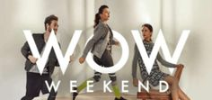 Myntra WOW weekend offer  Get 15% 20% 25% on purchase of 345 products