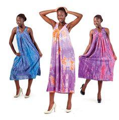 Long Tie-Dye Sundress-Women