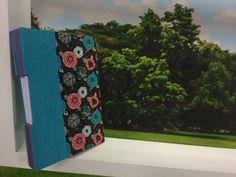 Arte Brasil | Caderno com Costura em Long Stitch - Helena Lima