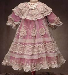 antique doll's dress. French