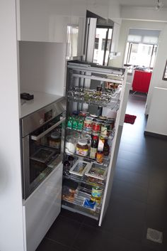 $800 Larder unit. 2 options! Buy from either HAfele at Sungei Kadut (But you need to go down there to order and need to wait a bit) and Excel Hardware (Can buy online as well).