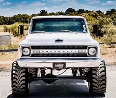 Chevy click Picture to check out our merch store C10 Trucks, Chevy Pickup Trucks, Lifted Chevy Trucks, Chevy Pickups, Jeep Truck, Chevrolet Trucks, Chevy 4x4, Cars And Trucks, Chevrolet Blazer