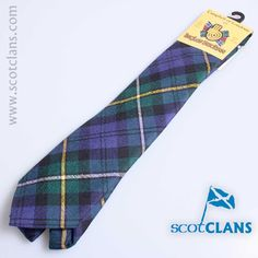 Campbell of Loudon Tartan Tie from ScotClans