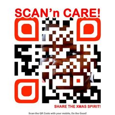 Guys, show how much you care for the needy by scanning n sharing!!!