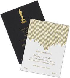 The Oscars® Party Invitations