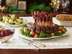 An Easy Four Course Feast Christmas Buffetchristmas Dinner Menuchristmas