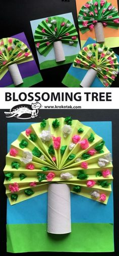 Blossoming Tree Best Picture For Spring Crafts For Kids ideas For Your Taste You are looking for something, and it is going to tell you. Kids Crafts, Spring Crafts For Kids, Crafts For Kids To Make, Tree Crafts, Summer Crafts, Toddler Crafts, Fall Crafts, Easter Crafts, Christmas Crafts