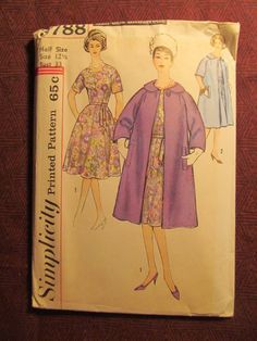 Uncut 1960's Simplicity Sewing Pattern 3788 by EarthToMarrs, $16.00
