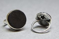 Black Wood and sterling silver ZM Jewellery