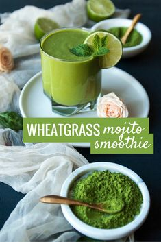 This crisp and refreshing smoothie can be a light brekkie or a delicious mid-afternoon snack that will keep you satiated until dinner. It's bursting with chlorophyll and fibre from Organic Burst Wheatgrass and thanks to the healthy fats from avocado it will keep your blood sugar steady, giving you long lasting natural energy.