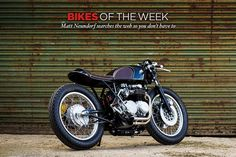 A CB550 named after a bomber, a BMW R nineT inspired by the Bauhaus movement and a pearler of a Kawasaki W650 from Deus Customs.