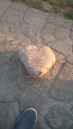Corazon de piedra, en el rio Miera