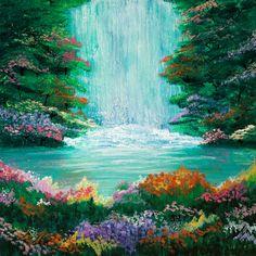 The Waterfall ~ Parima Creative Studios
