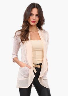 Ladies Who Lunch Sweater - Taupe