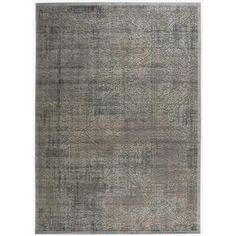 @Overstock - Expert  hand carving and raised high-low loop pile construction give this area rug extraordinary touch appeal. Sublime shading in subtle gradations of grey impart a damask design with an intriguing air that will lend an exotic allure to any setting.http://www.overstock.com/Home-Garden/Graphic-Illusions-Grey-Antique-Damask-Pattern-Rug-79-x-1010/7108684/product.html?CID=214117 $385.99
