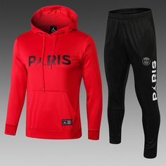 Kylie Jenner Red Tracksuit,Red Converse Tracksuit Bottoms,p-aris jordan red hooded tracksuit White Tracksuit, Tracksuit Set, Tracksuit Bottoms, Psg, Red Converse, Jordan Outfits, Jordans For Men, Sweater Hoodie, Man Stuff