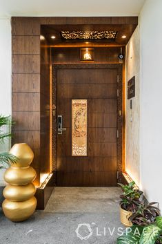 Modern Entrance Door, Main Entrance Door Design, Front Wall Design, House Main Door Design, False Ceiling Design, Wooden Ceiling Design, Home Entrance Decor, Doors Interior Modern, Front Door Design