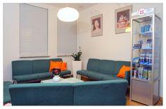 Dentysta Toruń na ul. Kościuszki 51 B w Klinice DENmed, #stomatolog #dentistry #Toruń #zęby #dentysta Ul, Sofa, Couch, Furniture, Home Decor, Settee, Settee, Decoration Home, Room Decor