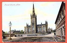 Vintage postcard.Parish Church, Alloa, Clackmannanshire,Scotland.