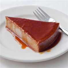 The combination of guava and #cheese makes this flan a delicious indulgence. #gourmet #recipes