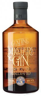Michlers Genuine Gin 44% Vol. - Handcrafted Gin - 0,7l | online kaufen bei Cheers-Shop.de (Alcohol Bottle)