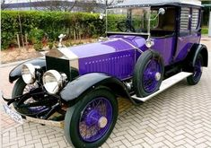 "The purple 1914 Rolls-Royce Ghost, formerly owned by Tsar Nicholas II is up for sale in Germany for 5.5 million euros   After the murder of the Imperial family, the car went to the US into the collection of John Ringling (of Ringling Bros. Circus). It was later exhibited in a casino in Las Vegas.    After the death of its owner the car was purchased by a German collector in 2010. He reportedly kept the Rolls-Royce in an ""nuclear bomb-proof bunker"" in the basement of his mansion."