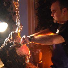 @chefaaronbrooks working it at @thedutchmiami #BBQ & #Bourbon #Summer series. #battlecajachinas